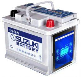 باتری 60 آمپر پایه بلند سوزوکی